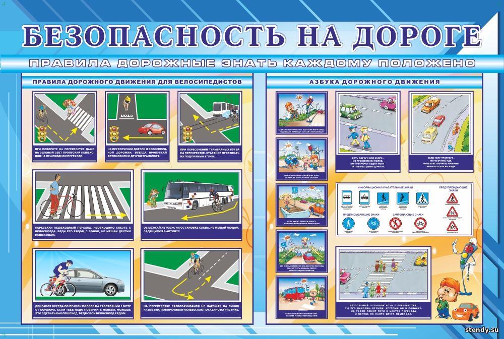 безопасность на дороге, правила дорожного движения для велосипедистов, азбука дорожного движения, безопасность дорожного движения, стенд, стенды по безопасности, стенды по безопасности в школе, стенды по безопасности в детском саду, стенды для школы, стенд в холл школы, стенды для детского сада, стенды в холл детского сада